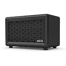 Akai A58052 Retro Rechargeable Bluetooth Speaker in Black -