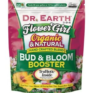 Dr. Earth Flower Girl Bud & Bloom Organic Dry Plant Food