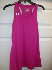 Under Armour, Sz: Small. Women's Loose Fit, in Pink Tank Top 1276217