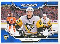 2018-19 Upper Deck Compendium Series 2 BLUE Sidney Crosby
