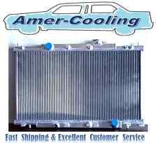 Aluminum Radiator Fit HONDA CRV Element 2002 2003 2004 2005 2006 L4 Row 2 MT M/T