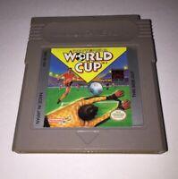 Nintendo World Cup Nintendo Game Boy 1991 Tested & Works Soccer Football