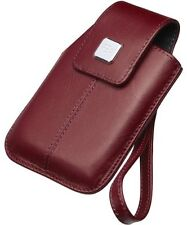 BlackBerry HDW-18970-003 Leather Tote for Storm 9500 Series Handsets - Dark Red