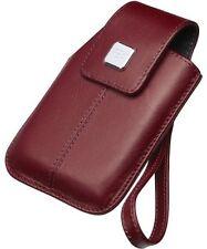 BlackBerry HDW-18970-003 Bolsón de cuero para Storm 9500 Serie Auriculares-Rojo Oscuro