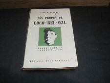 François BRIGNEAU/ Julien GUERNEC: les propos de Coco-bel-oeil .1 ère edition
