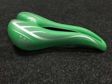 Cycling saddle Selle SMP HYBRID Made in Italy  Green. New