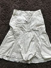 Girls Beige Floral Skirt 100% Cotton, 9 Years, Next, Summer, Holidays, Casual