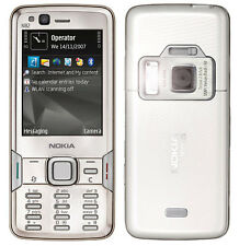 NOKIA N82 Mobile Cell Phone 3G Wifi Original Refurbished 5MP Smartphone Silver