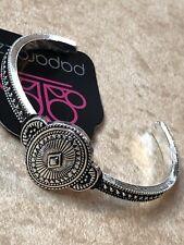 Paparazzi SAVANNAH SUNSET Silver Cuff Bracelet AZTEC-New