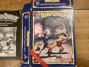 Adventure Design Kit - Expansion for Heroquest UNUSED Hero Quest VG Condition