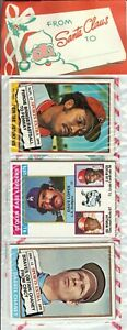 1976 Topps Baseball Holiday Christmas Rack Pack Dennis Eckersley Rookie RC? A-3