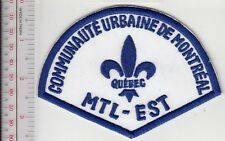 Montreal Police Department Communaute Urbaine Secteur Montreal-Est (non Active)