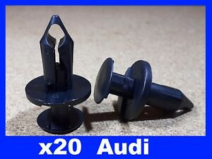 For Audi 20 engine under tray carriage cover fastener retainer clips
