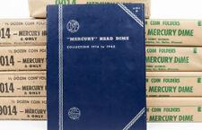 1- NEW WHITMAN MERCURY DIME 10C COIN ALBUM FOLDER 1916-1945 #9014 FROM SEALED PK