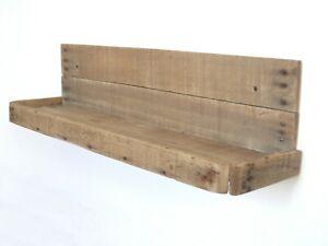 Mensola country in legno di recupero cm L 51 x  p 13 x h 14,5