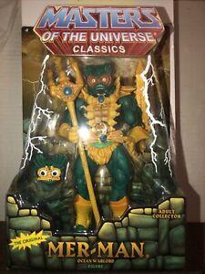 Masters of the Universe Classics MER-MAN MIB New MOTUC Four Horsemen
