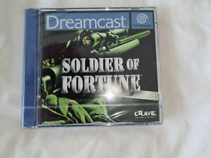 dreamcast game soldier of fortune sealed