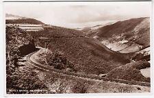 DEVIL'S BRIDGE STEAM RAILWAY TRAIN LINE - J Salmon - c1950s Real Photo postcard