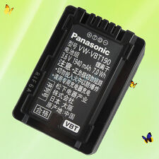 Genuine Original Panasonic VW-VBT190 Camcorder Battery Pack For V210 V520 V720