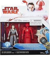 """Star Wars Force Link Rey & Praetorian Guard 3.75"""" Action Figures 2 Pack"""