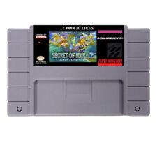 Secret of Mana 2 (Seiken Densetsu 3) SNES Super Nintendo USA RPG rare video game