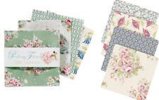 Tilda Painting Flowers Charmpack 42 Precuts 12,5 x 12,5 cm Patchwork Stoffpaket