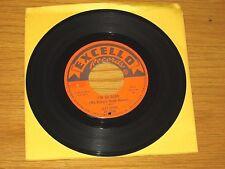 "BLUES 45 RPM - LAZY LESTER - EXCELLO 2206 - ""I'M SO GLAD"" + ""WHOA NOW"""