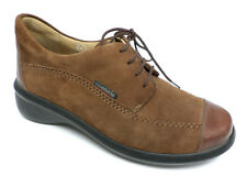 MEPHISTO Brown Walking Oxfords Size 6.5 or Shoes Mobils 6 1/2