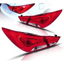 LED Rear Lights Lamp Assembly Tail Lights New Fits For 2011-2014 Hyundai Sonata