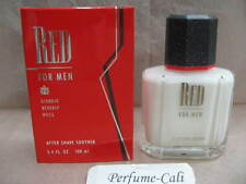 RED FOR MEN by BEVERLY HILLS 3.4 FL oz / 100 ML After Shave Balm New In Box