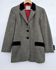 Moschino Cheap and Chic Tweed Blazer Jacket UK12 Vintage