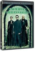 The Matrix Reloaded [New DVD] Dolby, Dubbed, Subtitled, Standard Screen