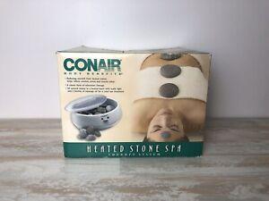 Conair Body Benefits Heated Stone Spa Therapy Hot Rocks 2002 New Open Box