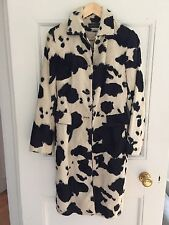 karen millen animal print coat