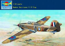 "Trumpeter 1/24 British ""Hurricane"" Mk.ⅡD / Trop Tropical Type 02417"