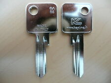 10x Schlüssel Rohlinge Rohling CA85 1883 C5D CI-DL AB1 ABUS C83 Schlüsseldienst