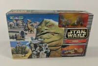 Vintage 1997 Micro Machines Star Wars JABBA Mos Eisley Spaceport Playset