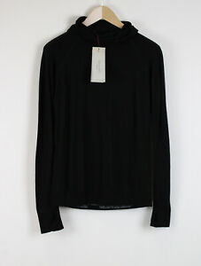 RRP£105 SWEATY BETTY ELITE SEAMLESS Women MEDIUM Wool Blend Sport Hoodie 21276_