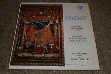 Mozart: Clarinet Concerto in A Major~Jost Michaels~Allegro Records AR 88013