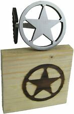 Star Branding Iron / Country, Western Wall Decoration