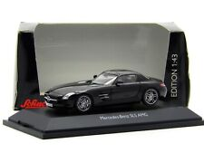 1:43 Schuco Mercedes-Benz SLS AMG C197 Black Diecast Model 450741200 Rare