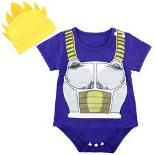 Bebé Niño Dragon Ball Z Ropa Infantil Vegeta Disfraz Mono Recién Nacido Conjunto