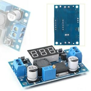 Converter Step-down Power Accessory Adjust DC-DC LM2596S Supply Converter