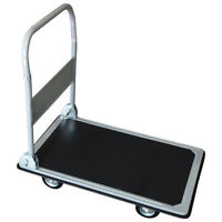 Charles Bentley Folding Platform Trolley Made of Powder Coated Steel - 300 kg