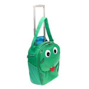 AFFENZAHN Frog Suitcase Luggage Cabin Size Lightweight Shoulder Strap Two Wheels