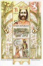 Czech Republic 2016 MNH King Charles IV Karolus Quartus 1v M/S Royalty Stamps