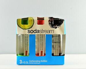 Sodastream 3x .05L Carbonating Bottles