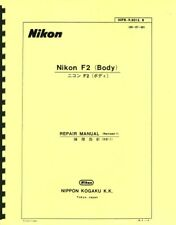 Nikon F2 Body, Revised, Service & Parts Manual Reprint: English & Japanese