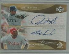 RYAN HOWARD Leone 2005 UD Reflections AUTO Autograph 2006 MVP! PHILLIES!!