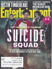 Entertainment Weekly (7-2016) -Suicide Squad cover 3 of 4 -Timberlake -Lobster